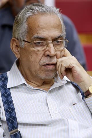 Eurico Miranda, presidente do Vasco (Foto: Úrsula Nery/Ferj)