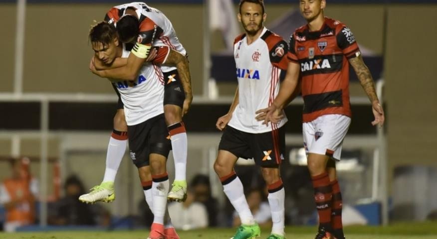 Flamengo se classifica para as quartas da Copa do Brasil
