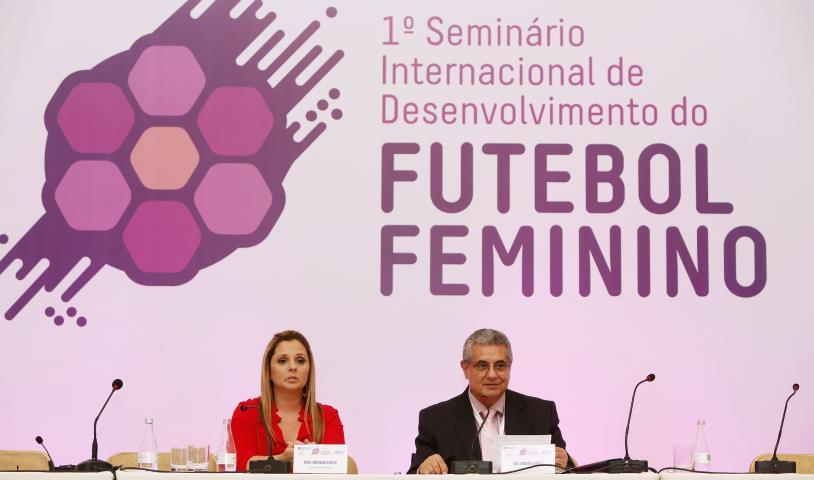 1º Seminário Internacional de Desenvolvimento do Futebol Feminino foi um sucesso