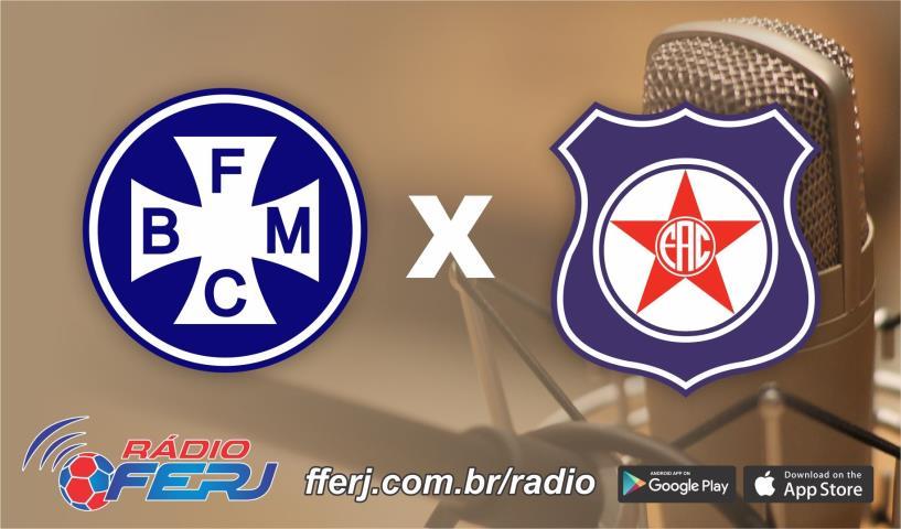 Rádio FERJ transmite Barra Mansa x Friburguense, pela Série B1