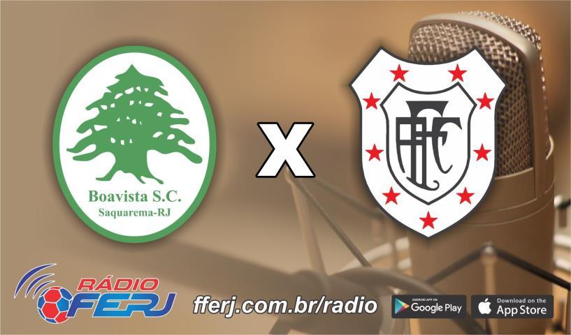 Rádio FERJ na final da Copa Rio