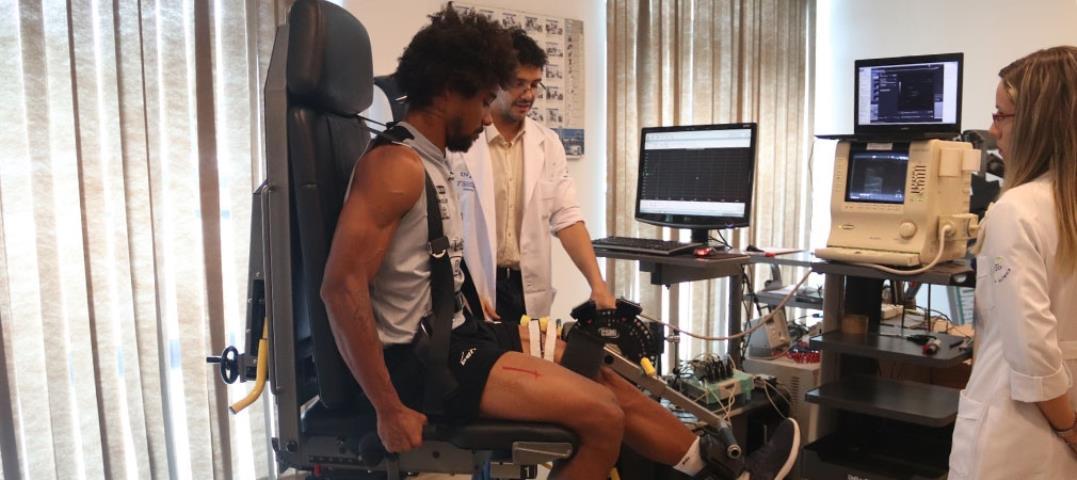 Nova Iguaçu realiza teste nos jogadores para prevenir lesões