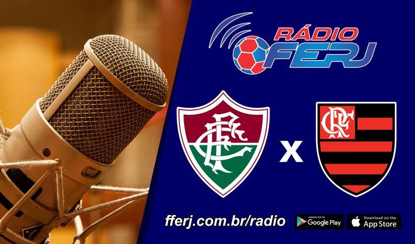 Rádio FERJ no 1º jogo da final do OPG