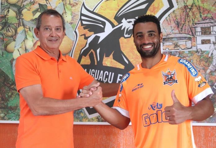 Bruno Veiga é mais um reforço do Nova Iguaçu