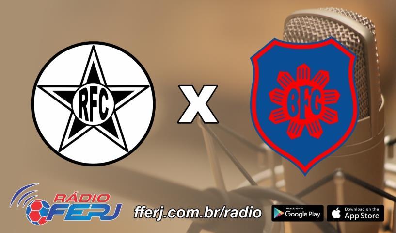Rádio FERJ transmite Resende x Bonsucesso