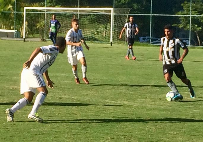 Sub-20: Botafogo vence o Figueirense e se garante nas quartas da Copa do Brasil
