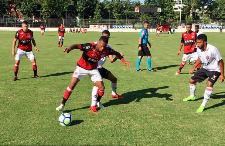 Flamengo elimina o Vitória-BA e está nas quartas da Copa do Brasil Sub-20
