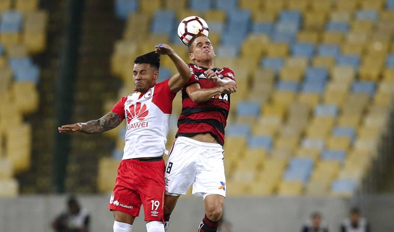 Flamengo empata, mas segue líder do Grupo 4 da Libertadores