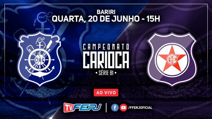 TV FERJ na 7ª rodada da Série B1 Estadual