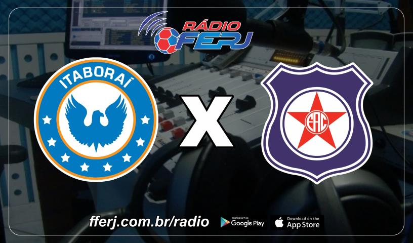 Rádio FERJ na semifinal da Copa Rio