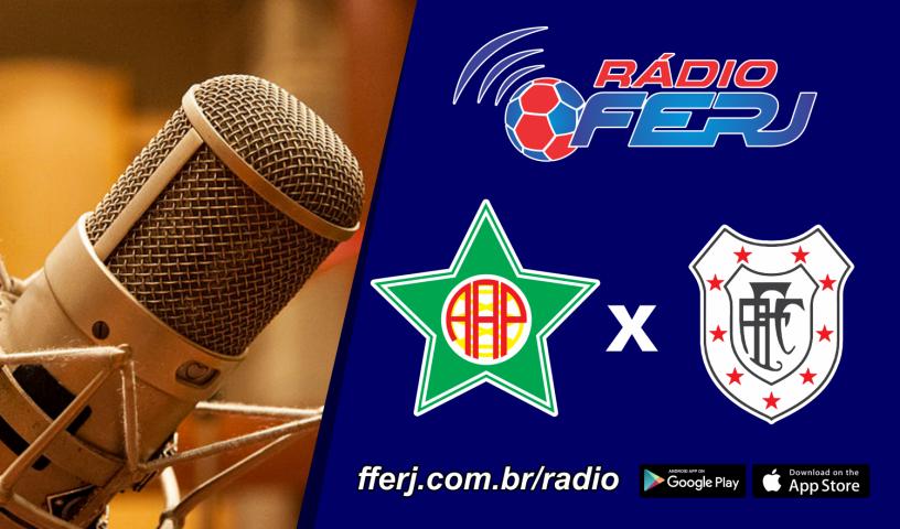 Rádio FERJ em campo neste domingo