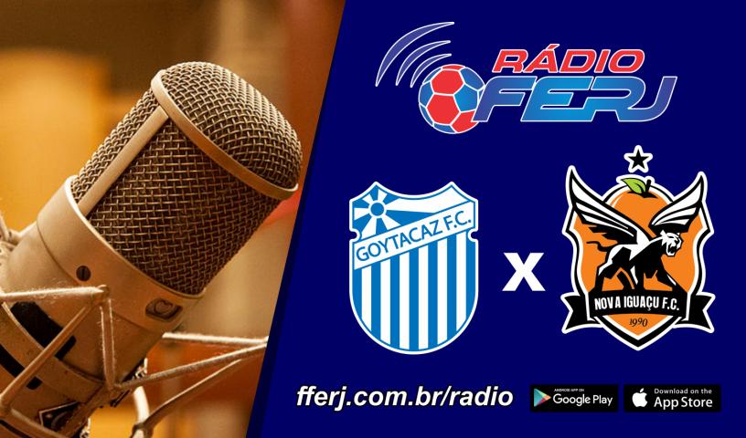 Rádio FERJ fecha a rodada do Grupo X