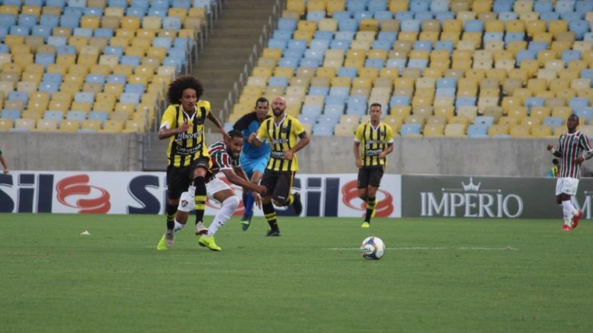 Fluminense e Volta Redonda empatam no Maraca