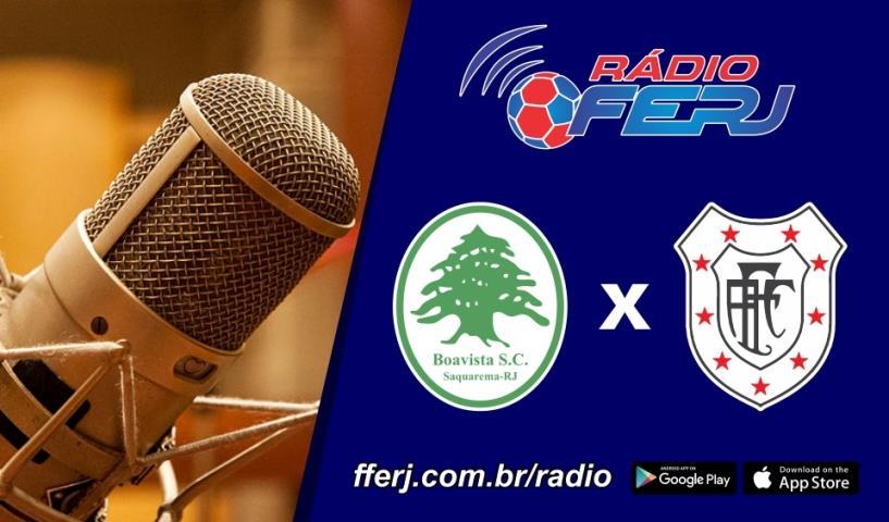 Rádio FERJ no encerramento da 4ª rodada da Taça Rio