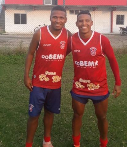 Gonçalense apresenta Marquinho e Jorginho Magé
