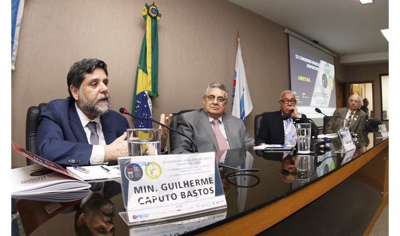 FERJ recebe o 3º Congresso Brasileiro de Direito Desportivo