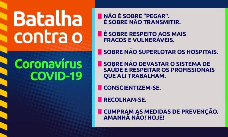 FERJ na campanha da prevenção do Coronavírus
