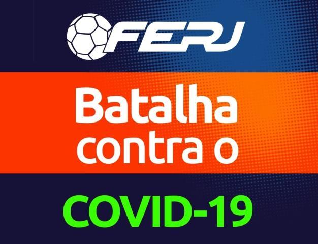 Futebol do Rio x Coronavírus: Fique em casa!
