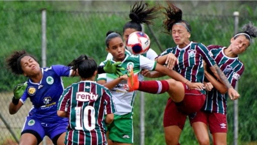 Flu vence e segue 100% no Carioca Feminino